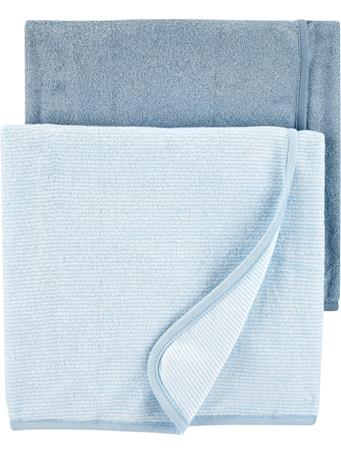 CARTERS - 2-Pack Baby Towels NO COLOR