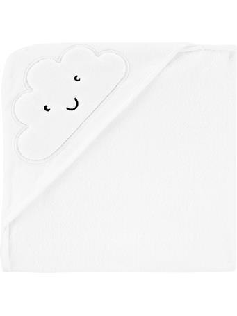 CARTERS - Cloud Hooded Towel IVORY