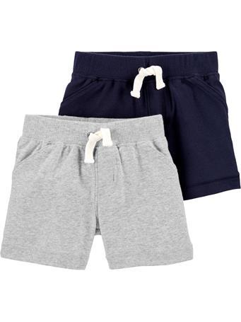 CARTERS - 2-Pack Shorts NAVY GREY