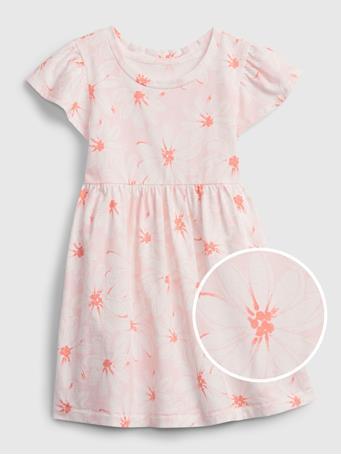 GAP - Toddler Skater Dress PINK FLORAL