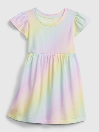 GAP - Toddler Skater Dress PURPLE OMBRE