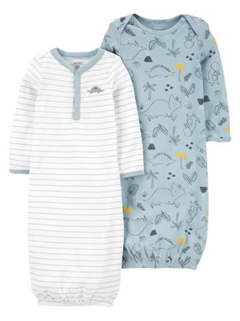 CARTERS - 2-Pack Sleeper Gowns NO COLOR