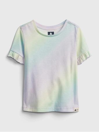 GAP - Toddler 100% Organic Cotton Mix and Match T-Shirt MULTI TIE DYE