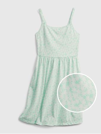 GAP - Kids Twist Back Dress BLUE FLORAL