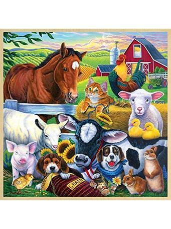 MASTER PIECES - Farm Friends 48Pc NO COLOR