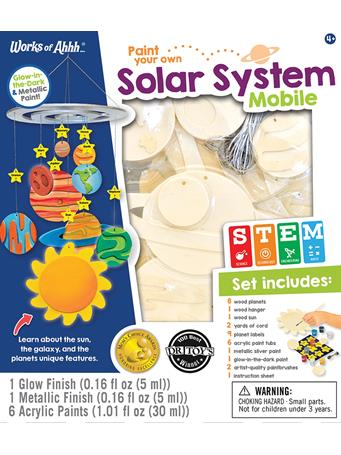 MASTER PIECES - Solar System Kit NO COLOR