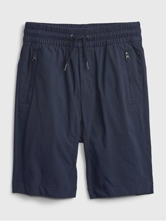 GAP - Kids Pull-On Hybrid Shorts with QuickDry. TAPESTRY NAVY V2