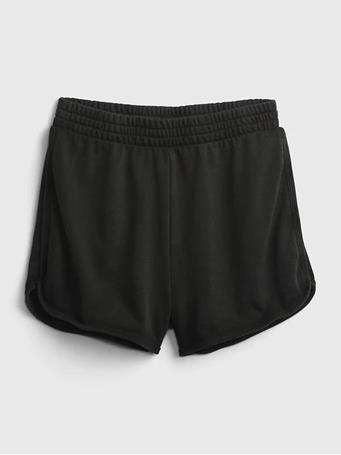 GAP - Teen High-Rise Dophin Shorts SOFT BLACK