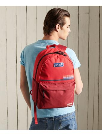 SUPERDRY - Original & Vintage - Cali Montana Backpack APPLE RED