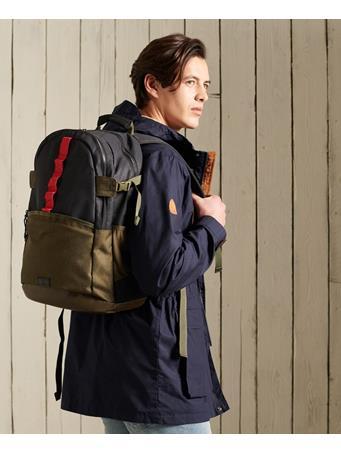 SUPERDRY - Californian Surf Tarp Backpack VINTAGE BLACK