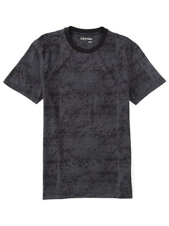 CALVIN KLEIN - Liquid Touch Scatter Print T-Shirt 001 BLACK