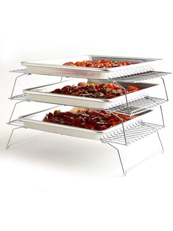 NORPRO - 3 Tier Stack-able Cooling Rack Set No Color