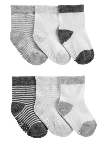 CARTERS - 6-Pack Booties NO COLOR