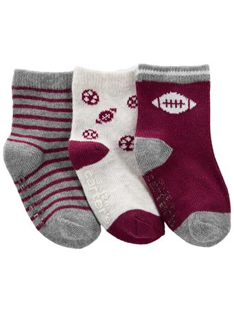 CARTERS - 3-Pack Crew Socks NO COLOR