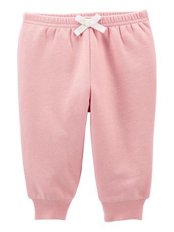 CARTERS - Pull-On Fleece Pants PINK