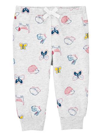 CARTERS - Pull-On Fleece Pants GREY