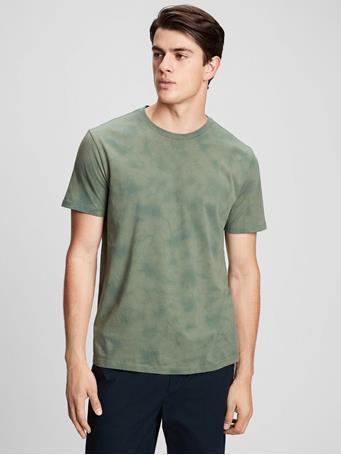 GAP - Everyday Tie-Dye T-Shirt DISTRICT GREEN