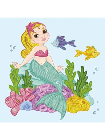 GETTY CRAFTS - Diamond Dotz Diamond Embroidery Facet Art Box Kit - Little Mermaid NO COLOR