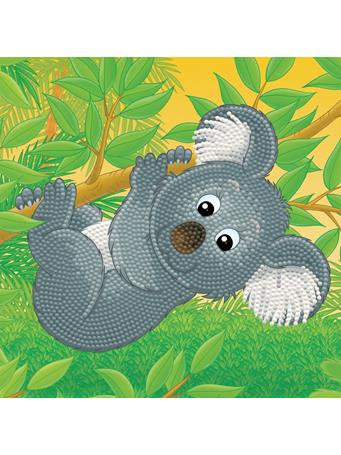 GETTY CRAFTS - Diamond Dotz Diamond Embroidery Facet Art Box Kit - Koala NO COLOR