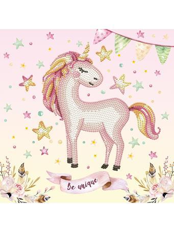 GETTY CRAFTS - Diamond Dotz Diamond Embroidery Facet Art Box Kit - Unicorn NO COLOR