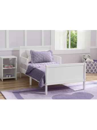 DELTA - Fancy Toddler Bed BIANCA WHITE
