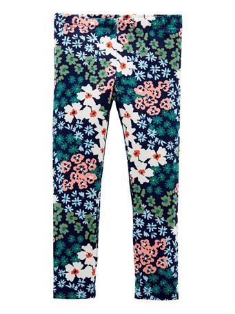 CARTERS - Floral Leggings BLUE