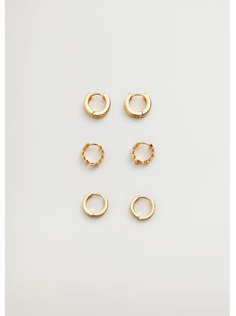 MANGO - Mixed Earring Set GOLD