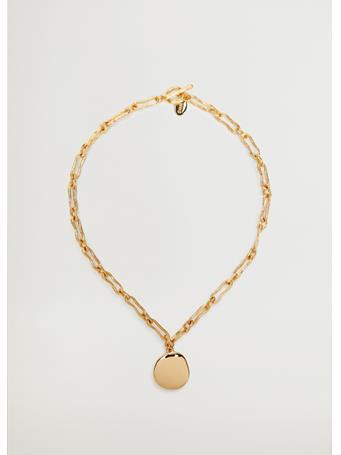 MANGO - Pendant Chain Necklace GOLD
