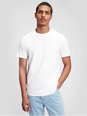 GAP - Classic T-Shirt OPTIC WHITE 3