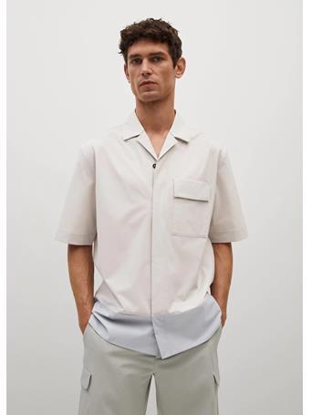 MANGO - Shirt Minsk GREY