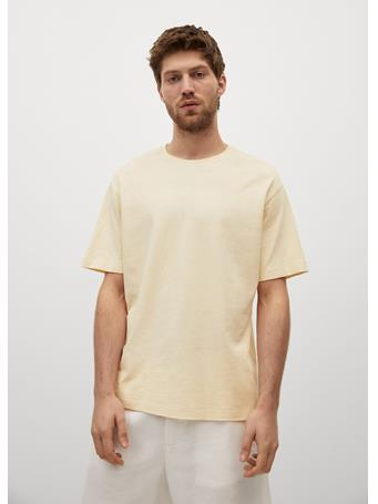 MANGO - T-Shirt Circo YELLOW