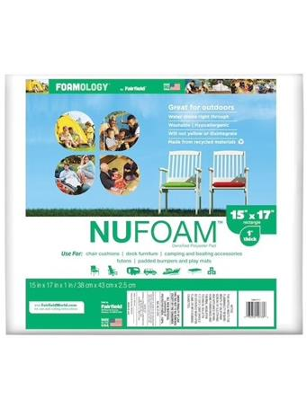 FAIRFIELD - NuFoam Densified Polyester Pad - Assorted Sizes No Color