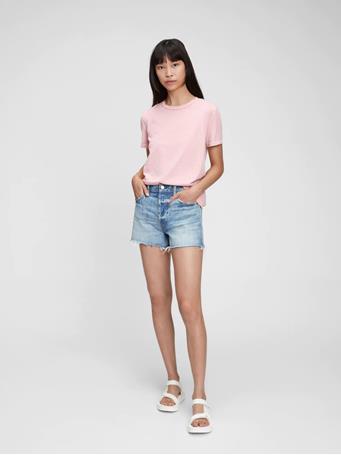 GAP - 100% Organic Cotton Vintage T-Shirt SOFT LILAC 965
