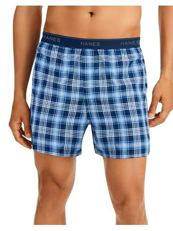 HANES - Men's Cool Comfort Woven Boxers 6-Pack ASST