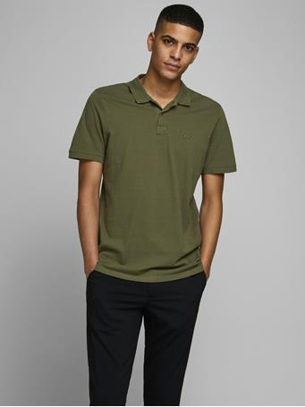 JACK & JONES - Classic Polo Shirt OLIVE