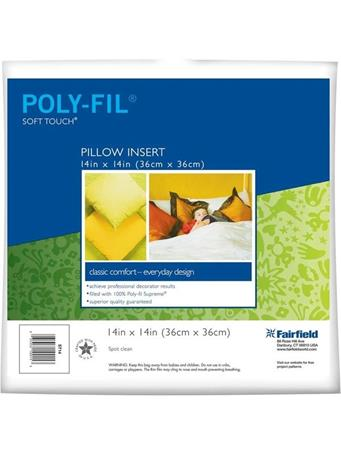 Soft Touch 14In Pillow Insert NOVELTY