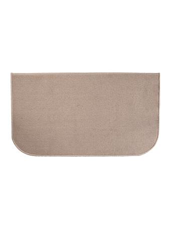 """RITZ - 20"""" X 36"""" Accent Kitchen Rug with Latex Backing  BEIGE"""