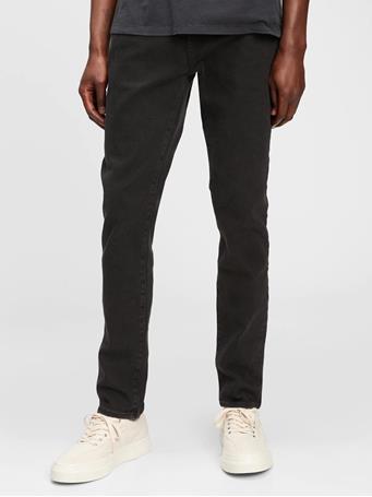 GAP - Skinny Jeans TRUE BLACK