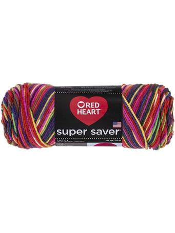 RED HEART - Super Saver Prints Yarn 3953 BUTTERFLY