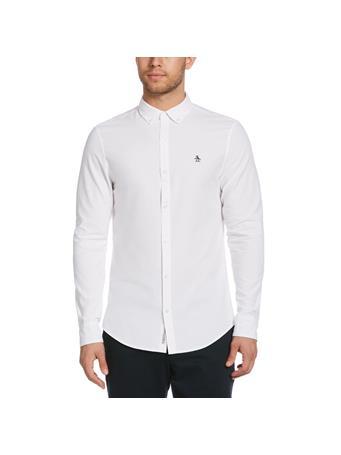 ORIGINAL PENGUIN - Poplin Shirt WHITE