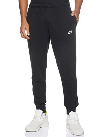 NIKE - Sportswear Club Jersey Joggers BLACK(WHITE)