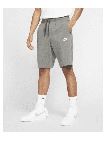 NIKE - Sportswear Club Men's Shorts DK GREY HEATHER (WHITE)