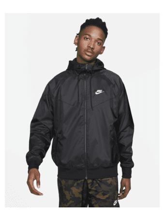 NIKE - Sportswear Windrunner Men's Hooded Jacket BLACK (WHITE)