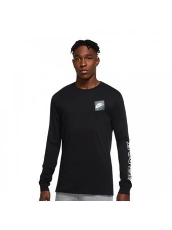 NIKE - Long Sleeve Tee BLACK