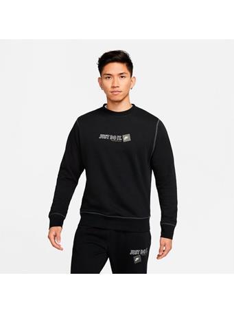 NIKE - Crewneck Sweatshirt BLACK