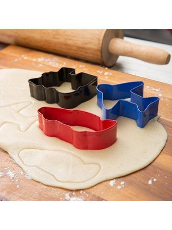WILTON - 3 Piece Metal Transportation Cookie Cutter Set No Color