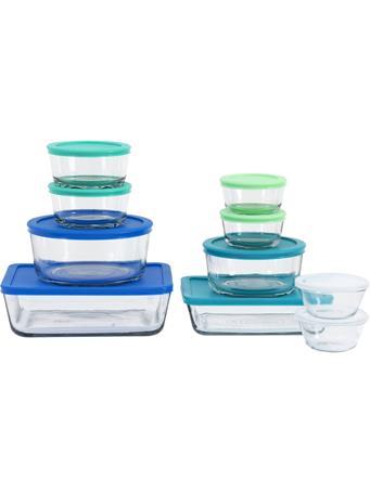 ANCHOR HOCKING  - 20 Piece Glass Food Storage Set with Lids No Color