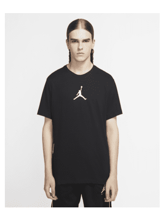 NIKE - Jordan Jumpman Men's Short-Sleeve Crew BLACK/(WHITE)