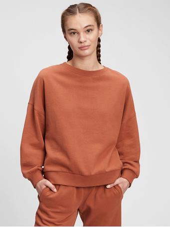 GAP - Vintage Soft Crewneck Sweatshirt SADDLE