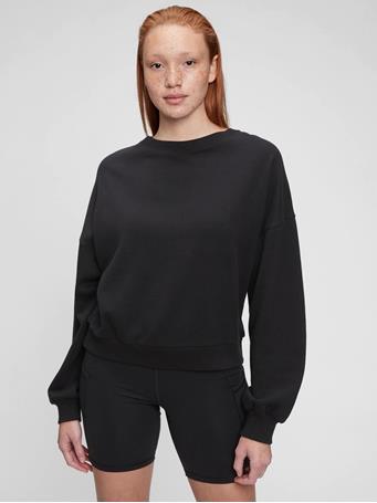 GAP - Vintage Soft Crewneck Sweatshirt TRUE BLACK